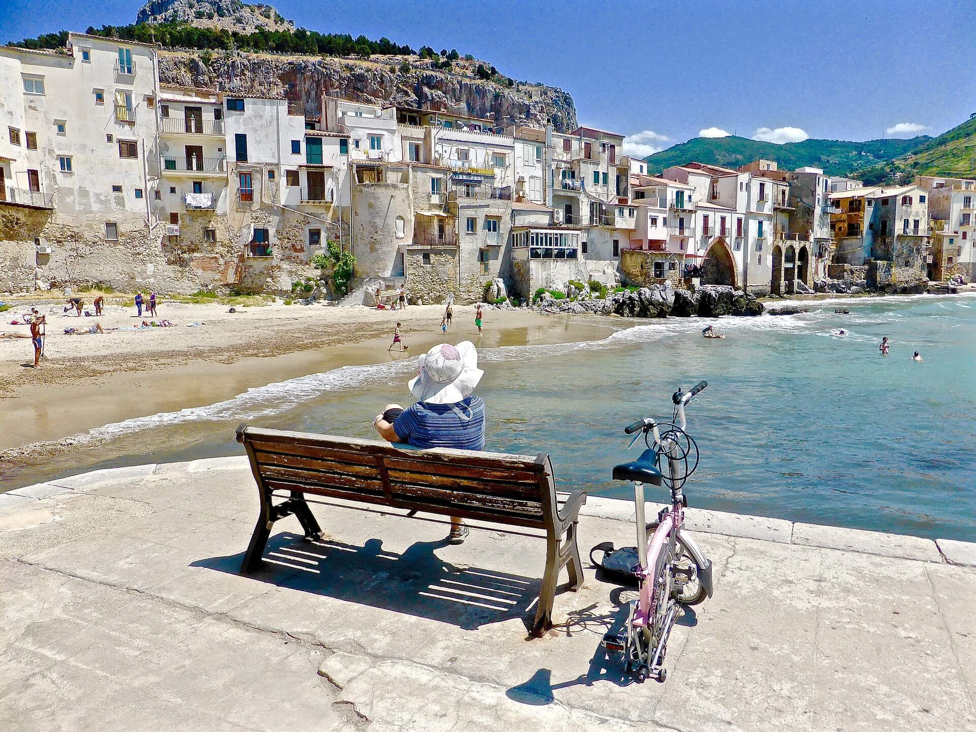 Sicily is Europe's greatest island cefalu